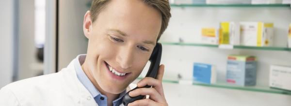 Visitenkarte Telefon