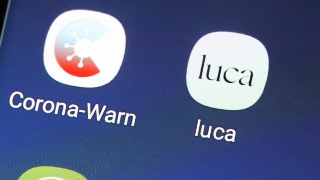 Über die staatliche Corona-Warn-App können voraussichtlich im April auch Schnelltest-Ergebnisse registriert werden. (Foto: IMAGO / Eibner)