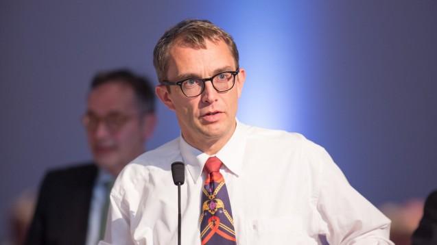 Belgardt bleibt in Berlin weiterhin Kammerpräsident. (Foto: DAZ/Schelbert)