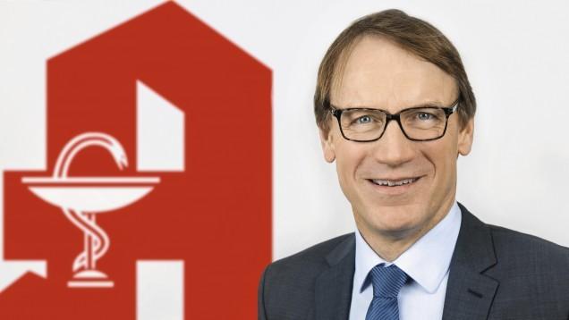 Thomas Preis, Vorsitzender des Apothekerverbands Nordrhein, fordert endlich eine Erlaubnis für die Apotheken, Corona-Antigentests abgeben zu dürfen. (Foto: AVNR)