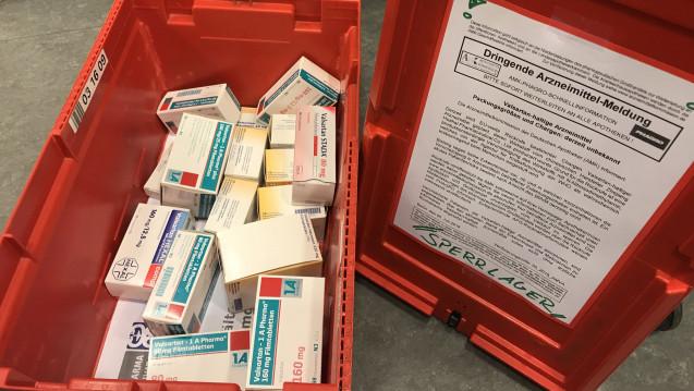 Welche Hersteller haben zurückgerufen? DAZ.online bietet eine Übersicht über alle bislang zurückgerufenen Valsartan-Präparate. (Foto: Quintin Cürten)
