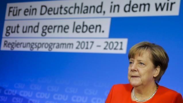 Die Union hat ihr Programm für die Bundestagswahlen vorgestellt, mit dabei: das Rx-Versandverbot. (Foto: picture alliance / AP Photo)