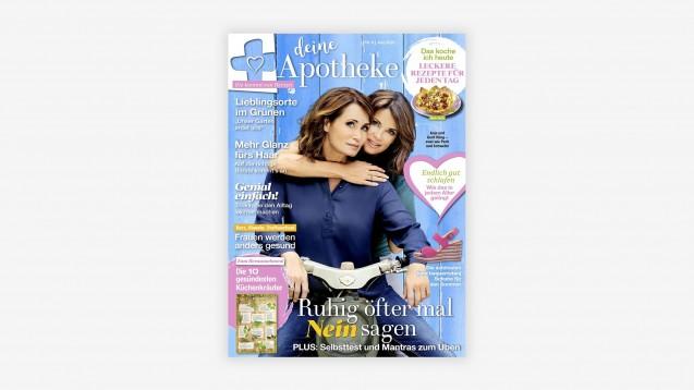 Eine Apothekenzeitschrift speziell für Frauen. (m / Cover: deine Apotheke-Magazin)