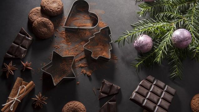 Adventszeit ohne Schokolade? Das ist für die meisten Menschen undenkbar. Gut zu wissen also, dass Schokolade auch ihre gesunden Anteile hat. (Foto:hannahby - stock.adobe.com)