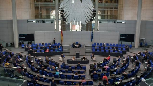 Der Bundestag hat das zweite Bevölkerungsschutzgesetz beschlossen. (Foto: imago images / Spicker)