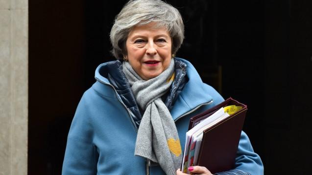 Großbritanniens Premierministerin Theresa May konnte das Unterhaus auch von ihrem neu ausgehandelten Austrittsvertrag mit der EU nicht überzeugen. (c / Foto: imago)