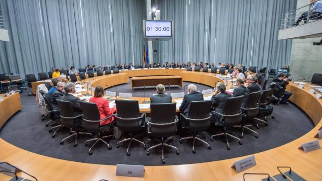 Die Grünen-Bundestagsfraktion lässt nicht locker: Sie will das Honorargutachten gerne im Gesundheitsausschuss des Bundestages besprechen. (s / Foto: Imago)