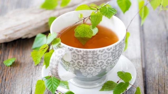 Tee aus Birkenblättern: Wird in der Apotheke häufig nachgefragt. (Foto: Hetizia / Fotolia)