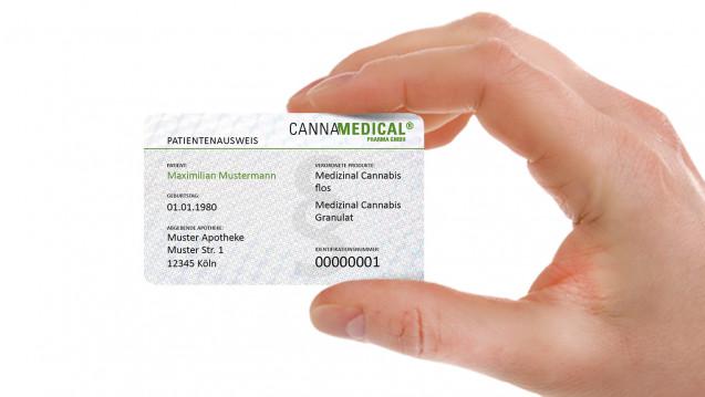 Mittels eines Ausweises will der Importeur Cannamedical es Patienten erleichtern, ihre Berechtigung zur medizinischen Verwendung von Cannabis nachzuweisen. (Foto: Cannamedical)