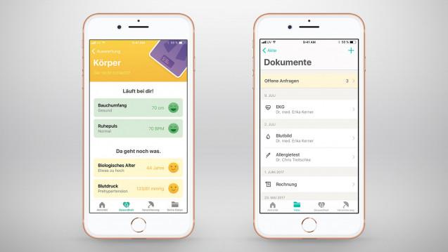 """Digitale Gesundheitsakte: Gesundheitsapp """"Vivy"""" startet"""