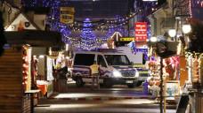 Auf dem Potsdamer Weihnachtsmarkt wurde im Dezember 2017 eine Paketbombe in einer Apotheke abgegeben. (Foto: Imago)