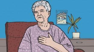 Eine Patientin mit schwerem Asthma
