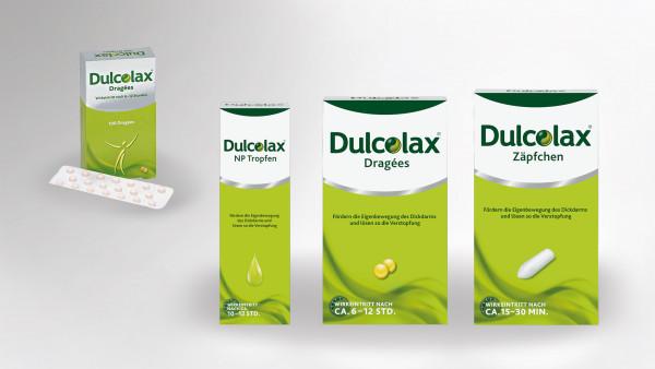Makeover jetzt auch für Dulcolax