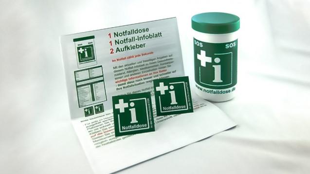 Noweda hat als erster Großhandel die Notfalldose im Sortiment. Wo können Apotheken die Notfalldose sonst beziehen? ( r/ Foto: privat)