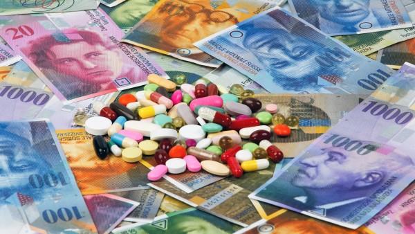 Schweizer geben weniger für Arzneimittel aus