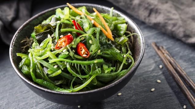 Keine andere Nahrungspflanze erzeugt in so kurzer Zeit so viel Biomasse wie Algen. Ein Nährstoffwunder sind sie jedoch nicht. Aufgrund des hohen Iodgehalts sollten sie mit Bedacht konsumiert werden. (Foto: Elena Schweitzer / AdobeStock)