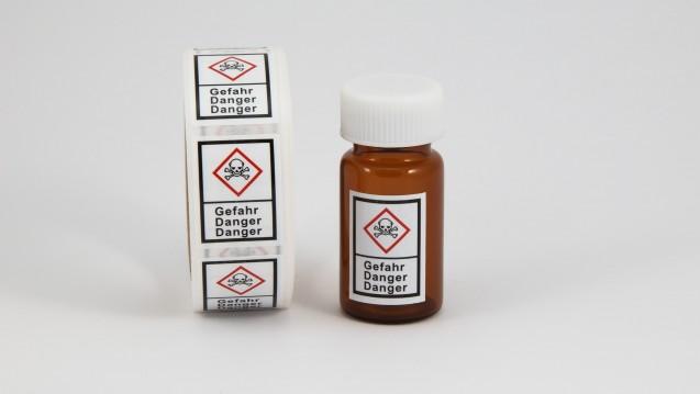 Für die Abgabe bestimmter Chemikalien braucht es einen Sachkundenachweis. ( r / Foto: Kanusommer/ stock.adobe.com)