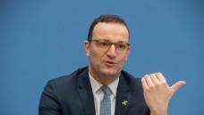 Bundesgesundheitsminister Jens Spahn (CDU) hat sich bei einer Pressekonferenz am heutigen Mittwoch zum GSAV geäußert. (Foto: imago)