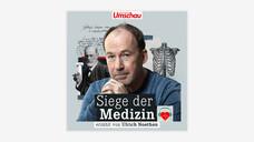 Schauspieler Ulrich Noethen führt als Sprecher durch den neuen Podcast.Alle 14 Tage erscheint eine neue Folge. (x / Foto: Wort & Bild Verlag)