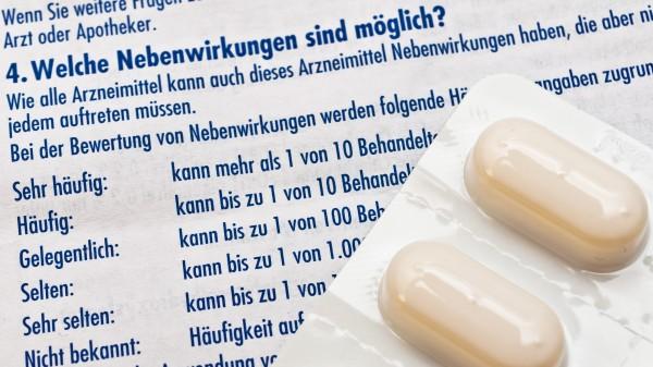 Weniger Indometacin-Nebenwirkungen durch Borcluster