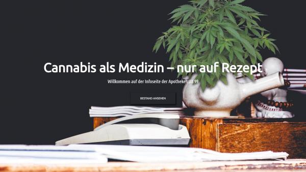 Apotheke bietet Live-Verfügbarkeitsdaten für Medizinalhanf an