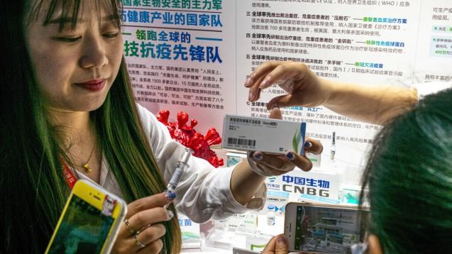 Vier chinesische COVID-19-Impfstoffkandidaten sollen in internationale klinische Phase-III-Studien eingetreten sein.(x / Foto: imago images / ZUMA Wire)