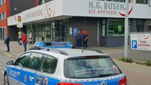Zwei Überfälle auf Apotheken in Mönchengladbach