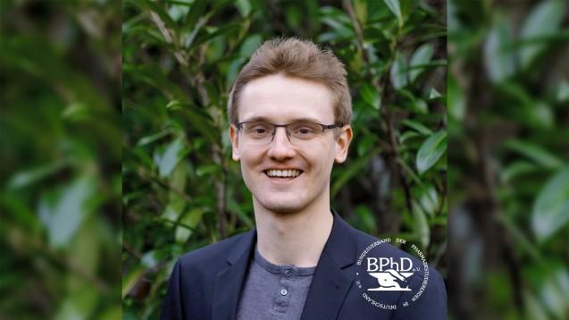 Steht ab 1. Juli 2020 an der Spitze des BPhD: Thorben Kurzbach aus Berlin. (m / Foto: BPhD)