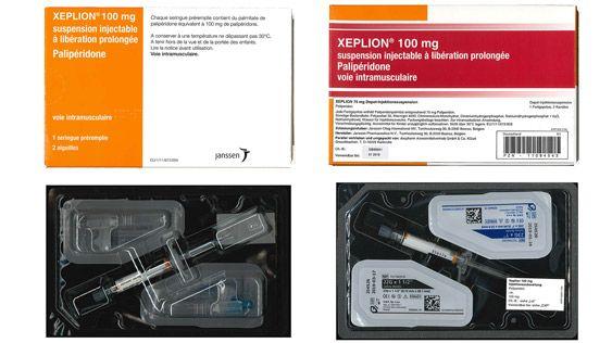 Rückruf Xeplion 100 mg Fertigspritze