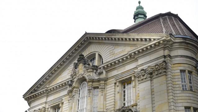 Vor dem Landgericht geht der Prozess gegen Ex-ABDA-Sprecher Bellartz weiter. (Foto: Külker)