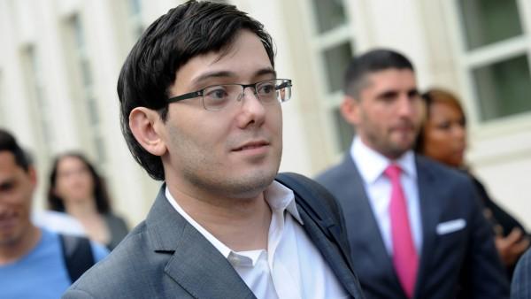 """Sieben Jahren Haft für """"Pharma Bro"""" Shkreli"""