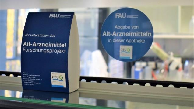 Bei einem Forschungsprojekt der Uni Erlangen geht es um das Recycling von Arzneimitteln. Auch Apotheken nehmen daran teil. (c / Foto Anna Roggenhofer)