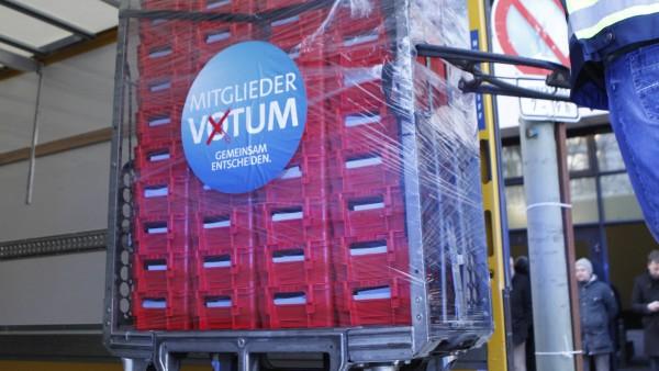 SPD-Mitglieder votieren für Neuauflage der Großen Koalition