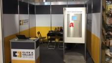 """Mit diesen Abholautomaten will sich das junge Unternehmen """"Click&Collect"""" im Apothekenmarkt etablieren. (Foto: DAZ.online/bj)"""