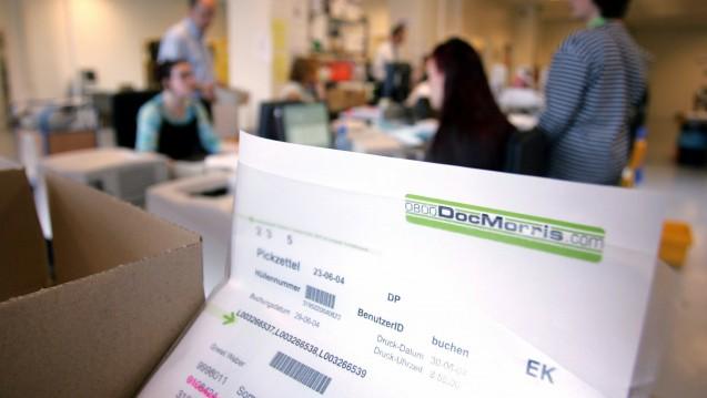 Dickes Plus: Die DocMorris-Mutter Zur Rose teilt mit, dass die niederländische Versandapotheke im OTC-Bereich ein Umsatzplus von 40 Prozent verbuchen konnte. (Foto:dpa)