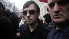 Martin Shkreli bei seiner Festnahme. (Foto: dpa)