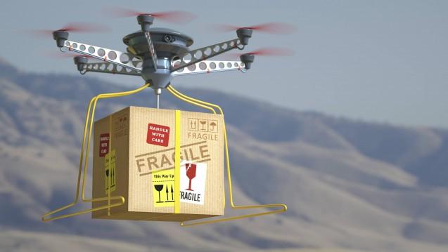 In Afrika werden Arzneimittel immer häufiger auch via Drohne ausgeliefert. (Hier ein Symbolbild) ( r / Foto: Imago)