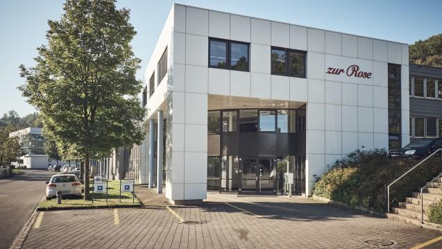 Aus Frauenfeld, wo der Pharmahandelskonzern Zur Rose seinen Sitz hat., äußert man sich zurückhaltend zu Spahns Plänen. ( r / Foto: Zur Rose)