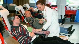 Blutspende - jeder Tropfen zählt
