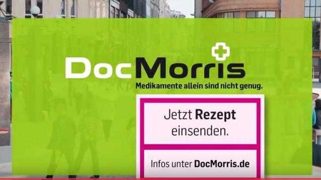 Mehr Rezepte von Chronikern: Die Versandapotheke DocMorris gibt viel Geld aus, um für ihre Rx-Services zu werben. (Screenshot: DAZ.online)