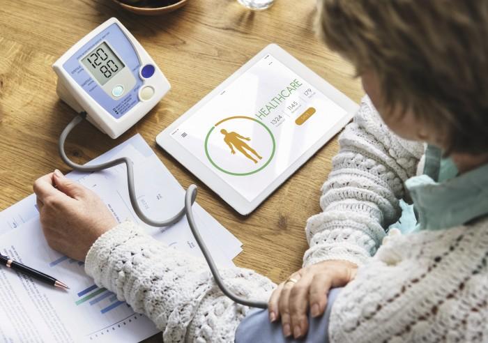 Blutdruck besser eingestellt - dank App?