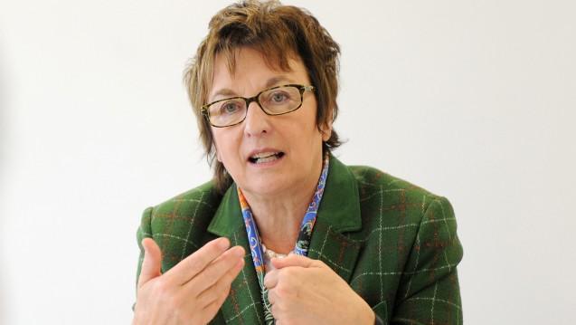 Bundeswirtschaftsministerin Brigitte Zypries (SPD): Apotheker können mit Selbstbewusstsein und Zuversicht in die Zukunft schauen! Foto: Harry Soremski