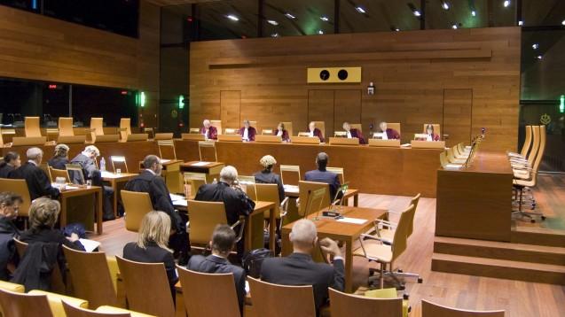 Die Erste Kammer des Gerichtshofs der Europäischen Union verhandelt am 17. März über das deutsche Arzneimittel-Preisrecht. (Foto: G. Fessy)