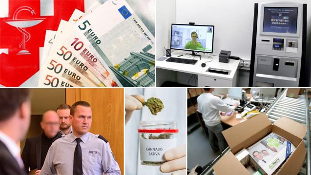 DAZ.online hat die Top-Themen des Jahres in einer Zeitleiste zusammengestellt (Fotos: dpa | hfd | diz)