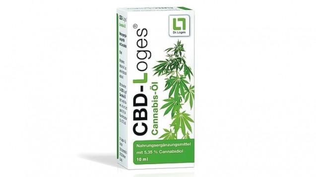 Auch die Firma Dr. Loges hat nun ein Cannabis-Öl auf den Markt gebracht – CBD-Loges, ein Nahrungsergänzungsmittel. (m / Foto: Dr. Loges)