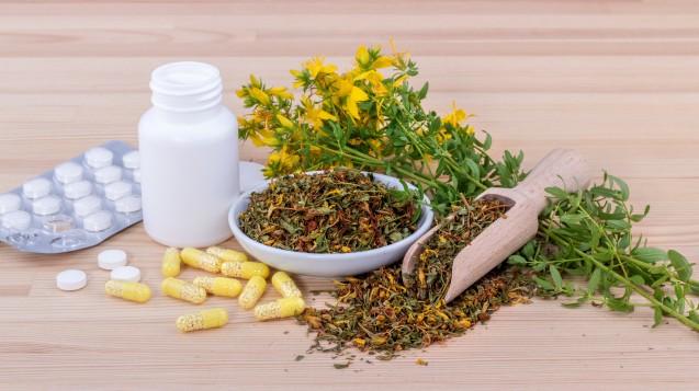 Johanniskraut ist nicht gleich Johanniskraut: traditionelle Arzneimittel fallen bei Ökotest. (Foto:Cora Müller / stock.adobe.com)