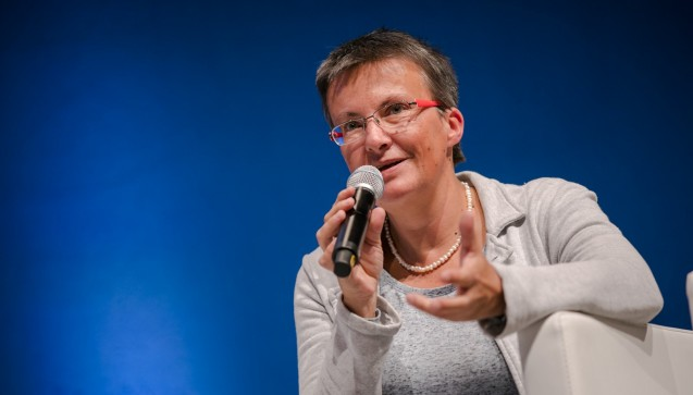 Kathrin Vogler von den Linken wiederholte ihre Kritik am Arzneimittel-Versandhandel. (Foto: Schelbert)
