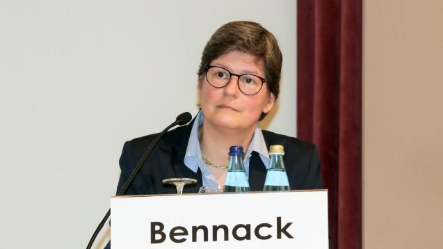 Krankenhausapothekerin Edith Bennack mahnt vor der leichtfertigen Verordnung von Cefuroxim. (Foto: DAZ/ck)