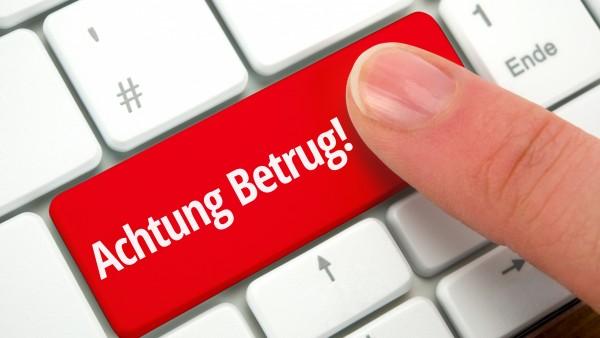 Hartmann warnt vor Betrugsversuch