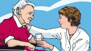 Eine Patientin mit Herzrhythmusstörungen